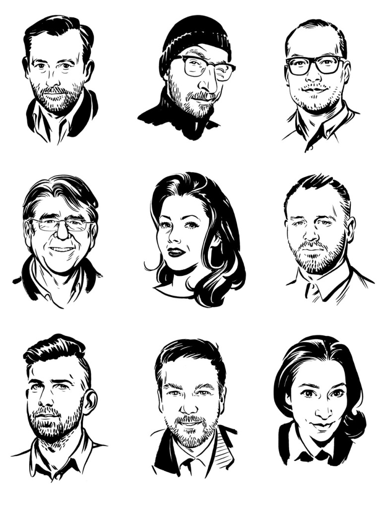 Portraits, Online-Kolumnen GQ